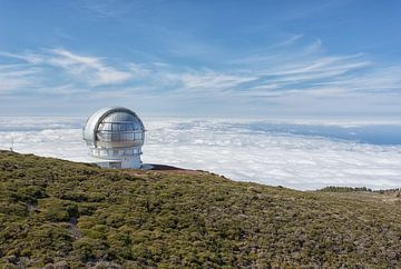 Observatorium auf La Palma von Angelika Stern