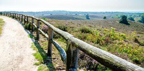Bergpassage in Nationaal Park Veluwezoom
