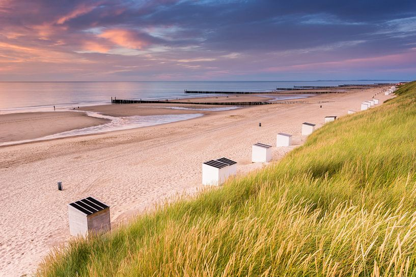 Domburg strand van Sander Poppe