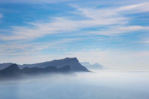 Misterieus Afrikaans wolkendek zee  van