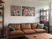 Kundenfoto: Tulpemädchen von Vrolijk Schilderij