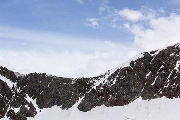 Ein Stück des Kaunertaler Gletschers von Joy Mennings