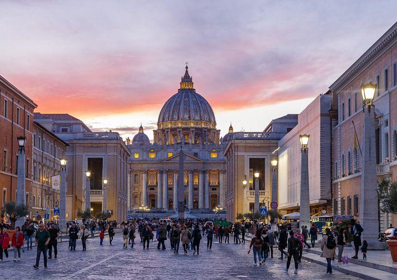 Zicht op het Vaticaan van Menno Schaefer