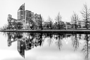 Skyline van Den Haag de  binnenstad van
