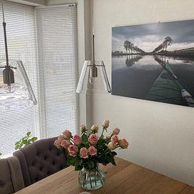 Kundenfoto: Nord-Holland-Kanal von Johan Vet, auf leinwand