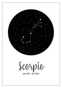 Sternbild Skorpion, Englisch