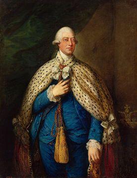 Porträt von Georg III., Thomas Gainsborough