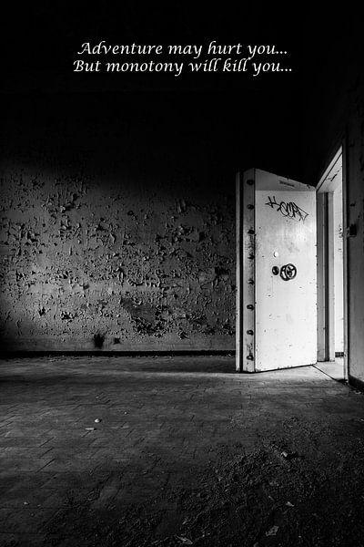 True the Door 2 van Kirsten Scholten