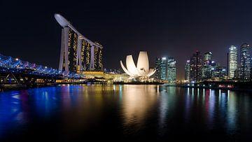 Singapur Marina Bay von Jos Pannekoek