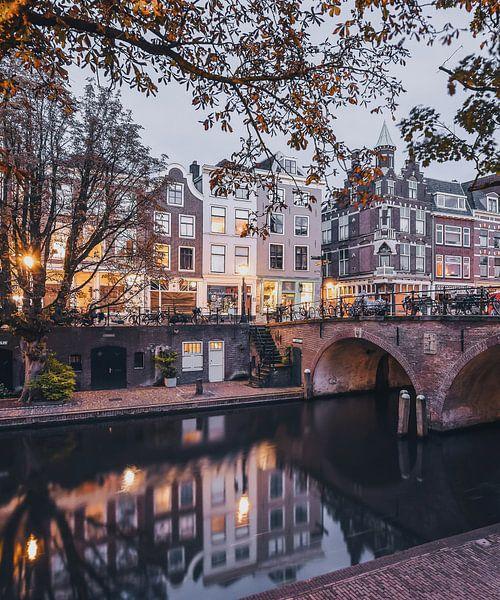 Quiet Evening in Utrecht  van Een Wasbeer