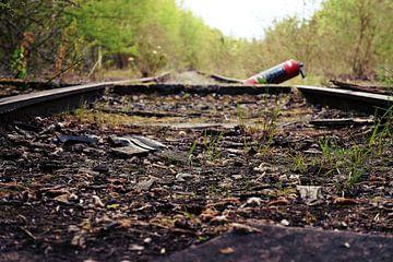 Verlaten spoorweg von Tiffany Venus