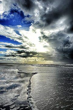 Schaum zeigt dem weg zum Zandvoort von Ernst van Voorst
