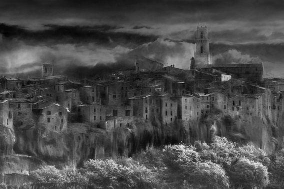 Pitigliano, een impressie van Lars van de Goor