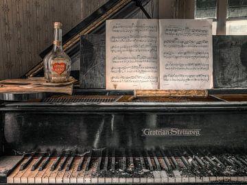 Lieu abandonné - Piano - amour silencieux sur