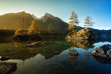 Hintersee in Duitsland van Martin Podt