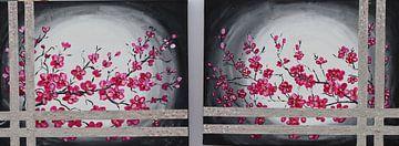 Diptychon Frühlingsblüte von Gulserin Gokcan