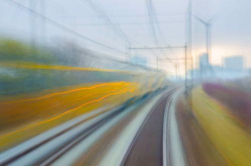 Abstracte trein
