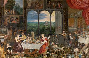 Schmecken, Hören, Fühlen, Jan Brueghel und Peter Paul Rubens