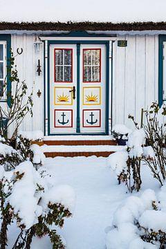 Haus in Born im Winter von Rico Ködder
