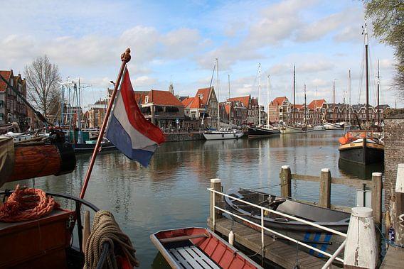 Hafen von Hoorn Noord-Holland