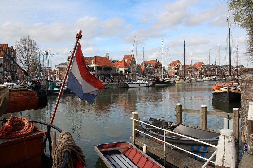 Hafen von Hoorn Noord-Holland von Paul Franke