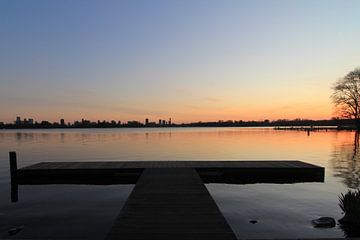 Adembenemende zonsondergang aan de Kralingse Plas van Capture the Moment 010