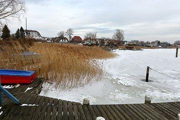 Bevroren Oostzee bij Breege van Alphapics