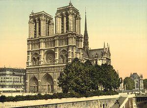 Notre Dame, Parijs von Vintage Afbeeldingen