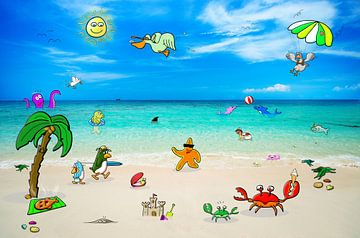 Strand en Zee avontuur van Kees-Jan Pieper