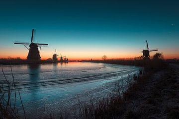 Prachitge opkomst aan de Kinderdijk von Midi010 Fotografie