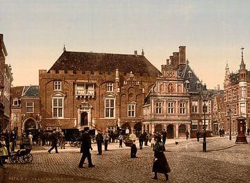 Stadhuis, Haarlem von Vintage Afbeeldingen