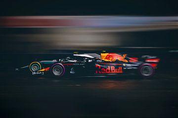 Max Verstappen Vs Lewis Hamilton - F1 Redbull Mercedes sur Kevin Baarda