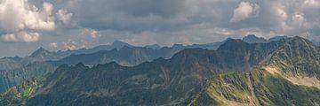 Bergpanorama Schladminger Tauern von Coen Weesjes