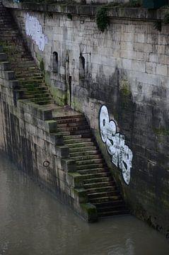 Trap aan de Seine van Fraukje Vonk