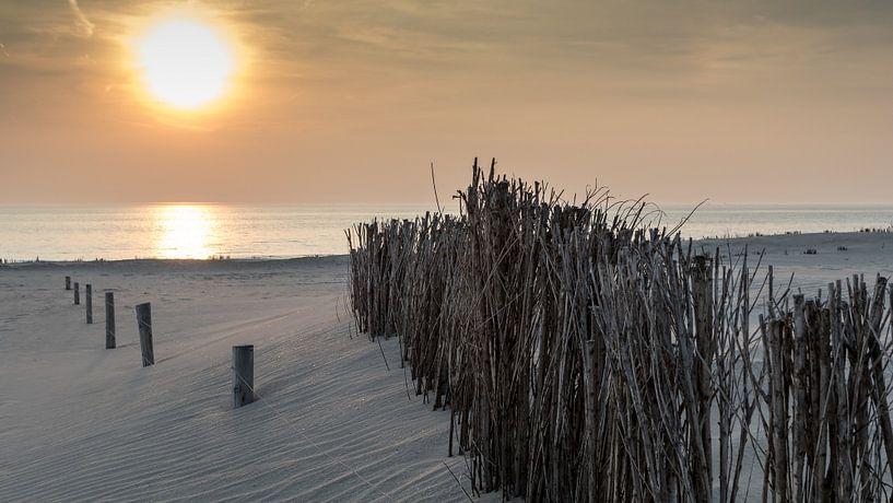 Dutch sunset van Chris van Kan