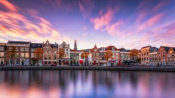 Haarlem bei Sonnenuntergang von Martijn Kort