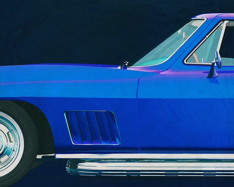Chevrolette Corvette Corvette Stingray 427 1967 van Jan Keteleer