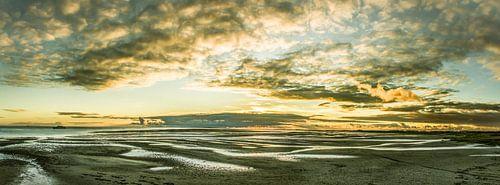 Zonsondergang op Noordsvaarder bij West-Terschelling