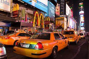 New York Taxi van Arno Wolsink
