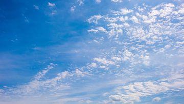 Wolken in de lucht van