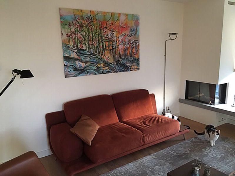 Klantfoto: Intens landschap van Eva van den Hamsvoort
