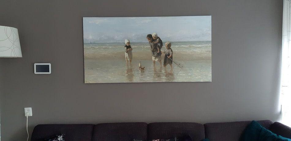 Klantfoto: Kinderen der Zee, Jozef Israëls van Rebel Ontwerp