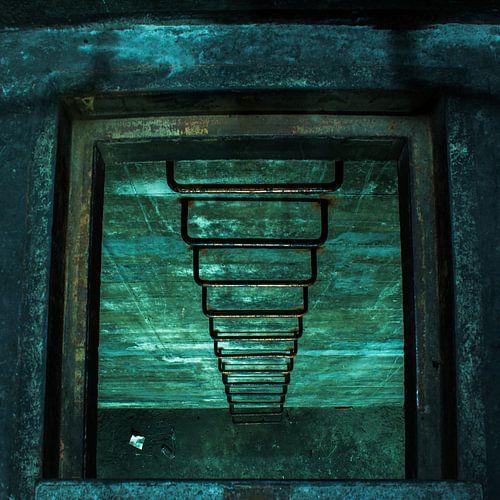 De trap naar de onderwereld
