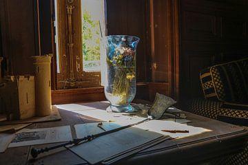 Vase Sonnenlicht von Wonderland of Decay