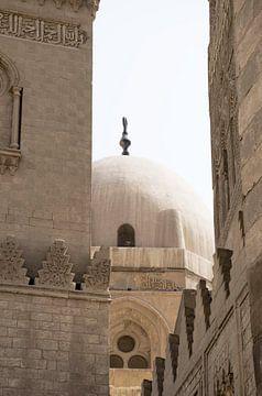 Architektur Altstadt Kairo ägyptisch. Schauen Sie durch die Moschee-Kuppel. von Marjolein Hameleers