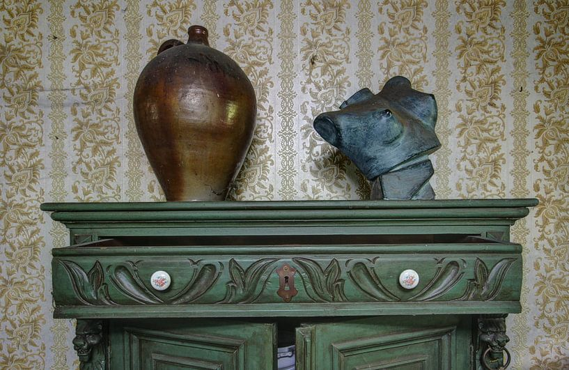 borstbeeld von Anya Lobers