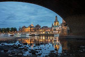 Altstadt von Dresden von Sergej Nickel
