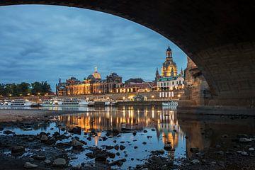Dresden Oude Stad van Sergej Nickel