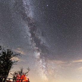 Milchstraße über den Hahnenkleeklippen von Oliver Henze