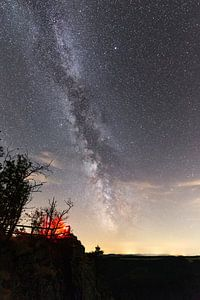 Milchstraße über den Hahnenkleeklippen